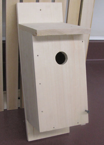 Small Bird House (Unassembled Kit) - My Wood Crafting