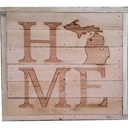 Home Pallet Signs - My Wood Crafting