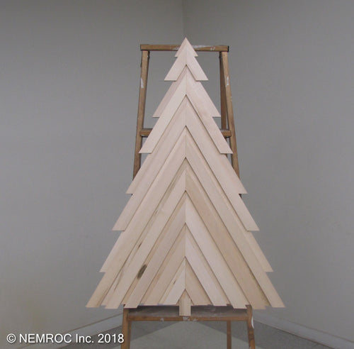 Wood Christmas Tree Kit - My Wood Crafting