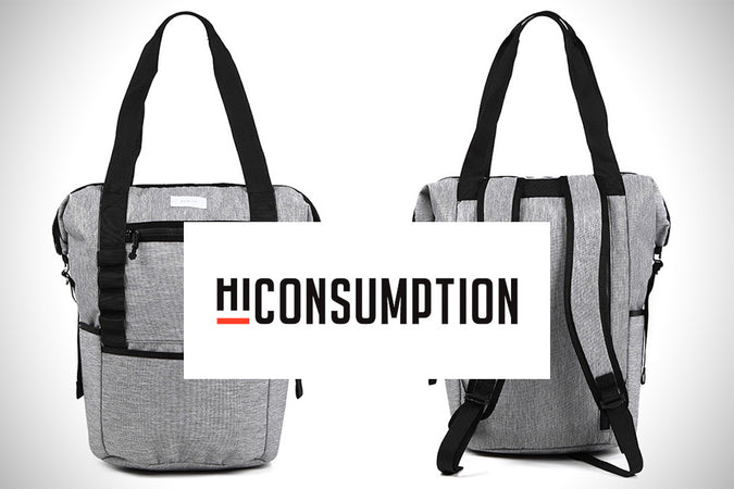 """The Catch-All Backpack"" - Review by HiConsumption"