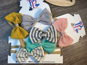 Soft Simple Bow Headband