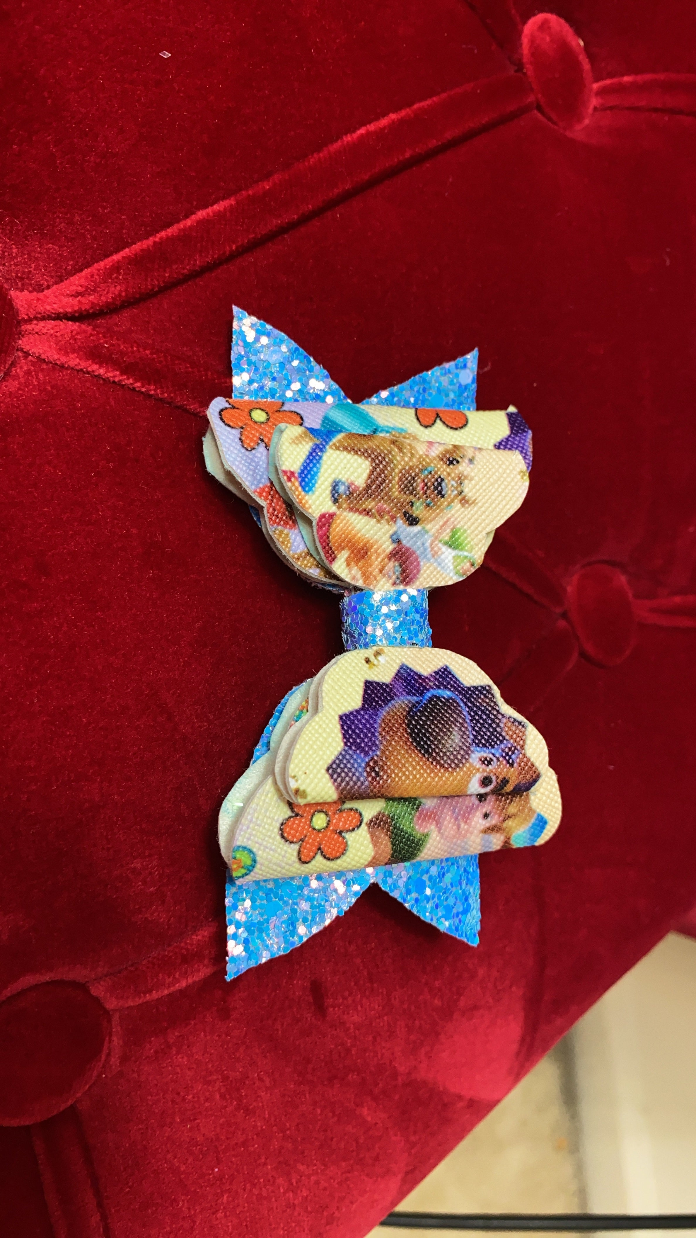 Scooby Doo Hair Bows