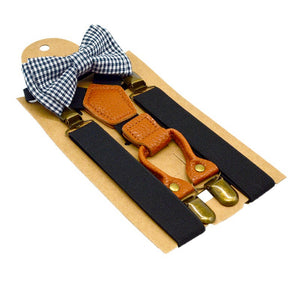 Toddler Suspender Luxury Bow Tie - High Point Enterprise