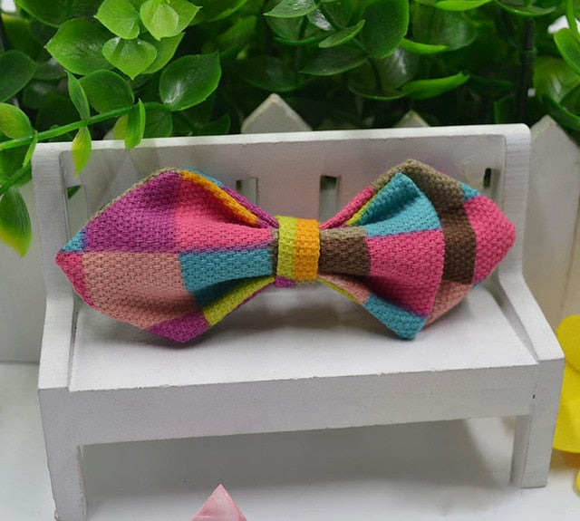 Multi Color Fashion Baby Bowtie - High Point Enterprise