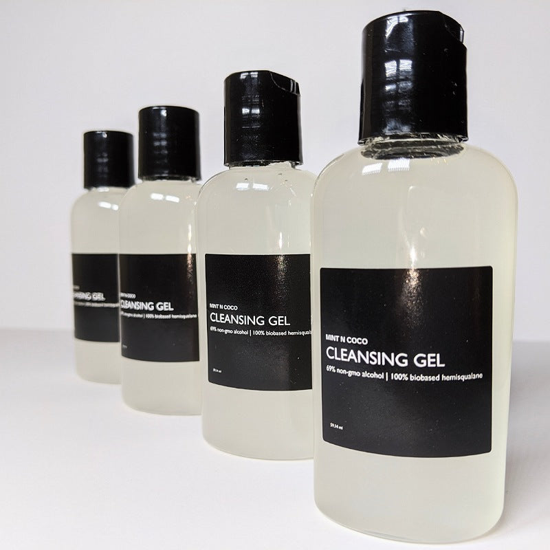 CLEANSING GEL | effective + gentle hand cleanser 4pack