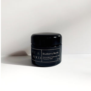 BLUEBERRY BOMB | hyaluronic acid antioxidant moisture bomb mask