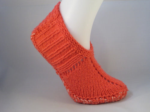Salmon Slipper Sock - Babushka Shop