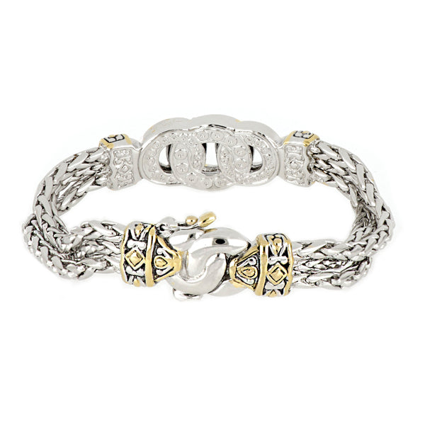 Antiqua Three Circle Bracelet