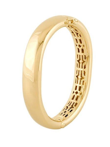 John Medeiros Antiqua Tailored Series Large Gold Bracelet