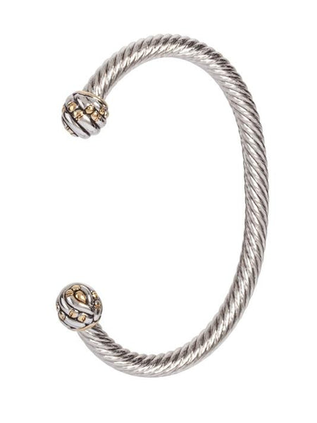 Canias Collection Medium Wire Cuff Bracelet