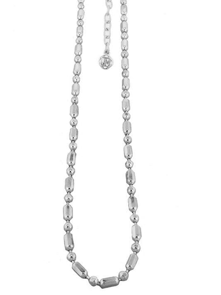 Lattice Chain - Rhodium