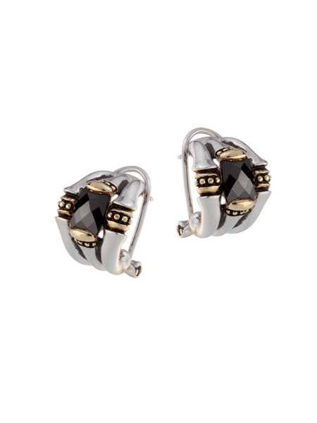 Canias Cor Collection Omega Clip Post Earrings
