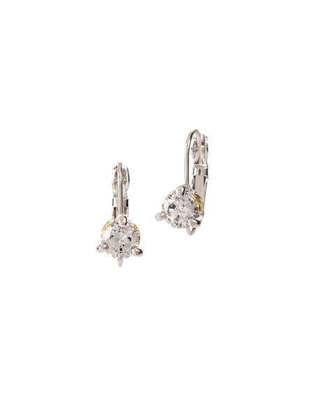 Beijos 5mm Prong Set Earrings