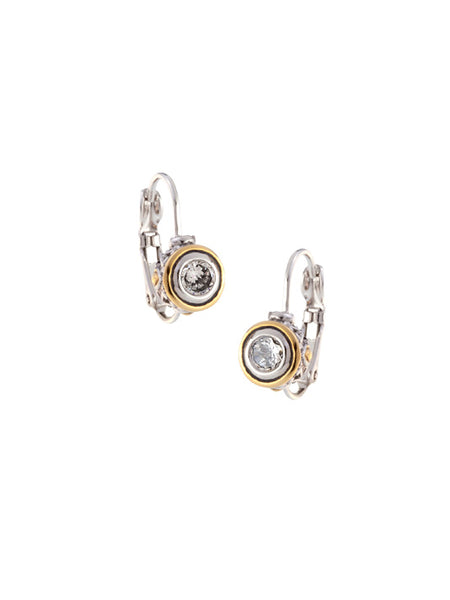 Beijos 5mm CZ Bezel Set Earrings