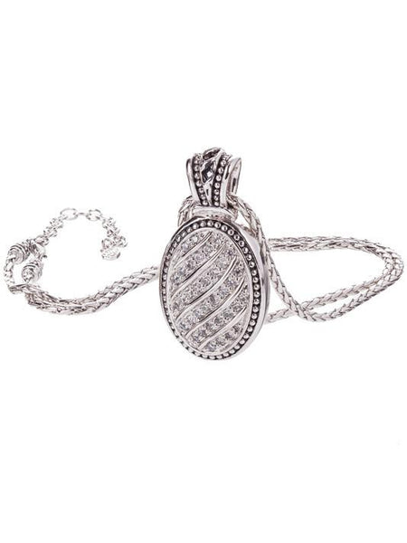 Ocean Images Sparkling Seas Pavé Enhancer with Chain