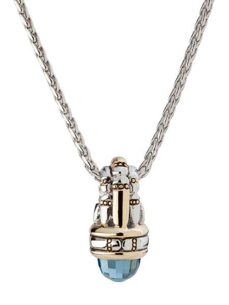 Canias Cor Collection Bullet Pendant Necklace