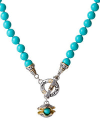 "Ocean Images Collection ""Pearl in Shell"" String of Knotted Pearls Necklace"