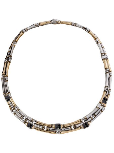 Canias Cor Three Row Necklace