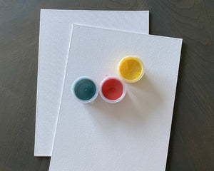 Canvas Panels & Finger Paint