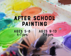 FEB 21 - APR 4 (6 Weeks) 7-8pm: After School Art Club [Ages 9-13]