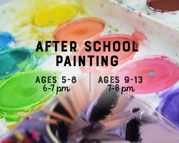 NOV 1 - DEC 6 (6 Weeks) 6-7pm: After School Art Club [Ages 5-8]
