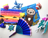 Day at the Beach! Keep'em Busy Box ~ Ages 6-8