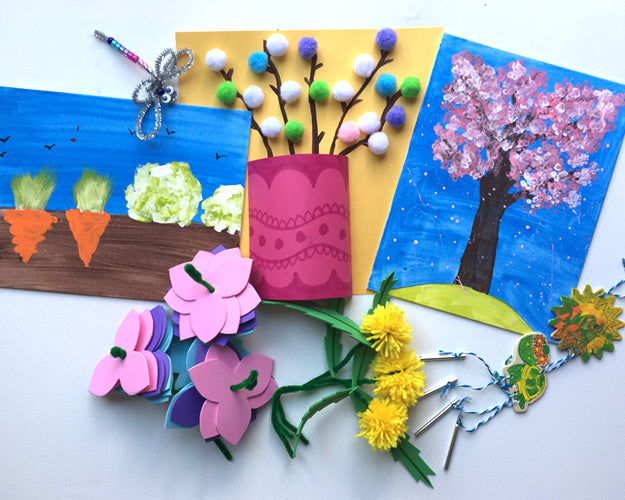 In the Garden! Keep'em Busy Box ~ Ages 3-5