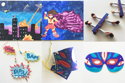We Are Heros! Keep'em Busy Box ~ Ages 5-8