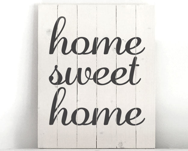 Extend-a-Family Waterloo Region: Home Sweet Home Wood Sign Kit