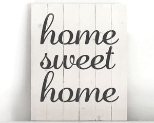 Home Sweet Home Wood Sign Kit