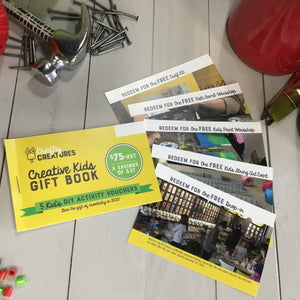 Holiday Gift Book - 5 Kid's DIY Vouchers