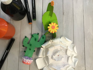 SECRET GARDEN: FEB 23 - MAR 29 (6 Weeks) 9am-10:30am Craft Club [Ages 6-12]