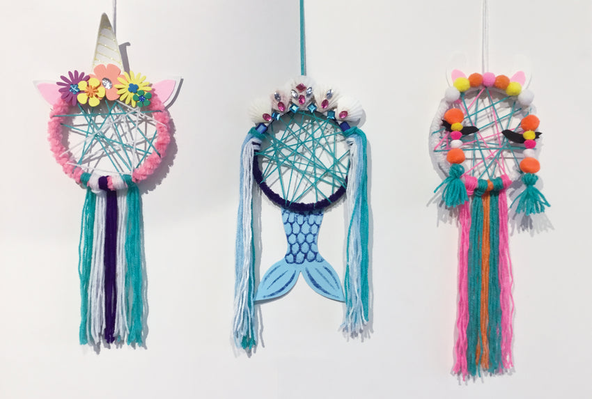 Unicorn, Mermaid or Llama Dreamcatcher - Reservation