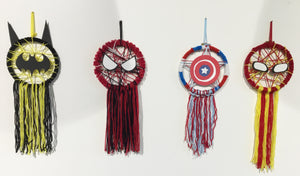 Superhero Dreamcatcher - Reservation