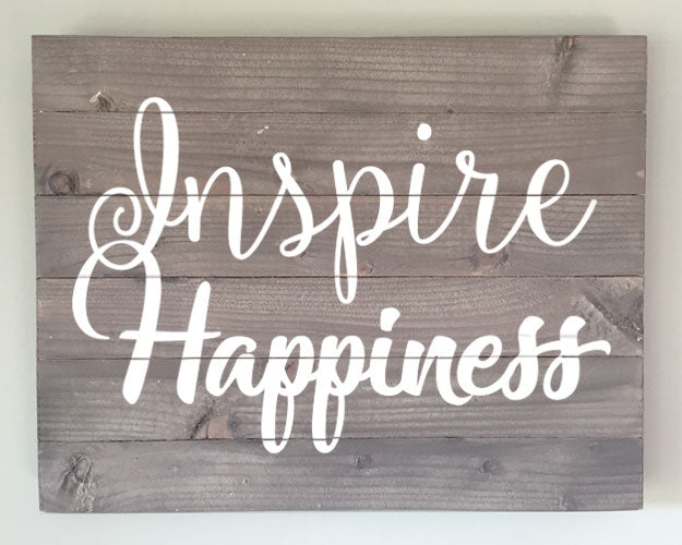 Extend-a-Family Waterloo Region: Inspire Happiness Wood Sign Kit