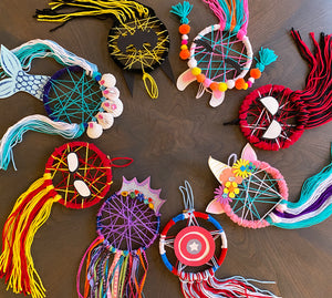 Kid's Birthday Dreamcatcher Kit