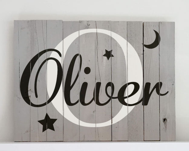Bedroom or Nursury Sign - Child's Name