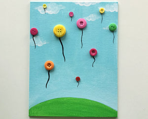 Let's Paint: Floating Balloons - Reservation