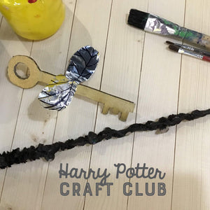HARRY POTTER: Jan 11 - FEB 15 (6 Weeks) 9am-10:30am Craft Club [Ages 5-12]