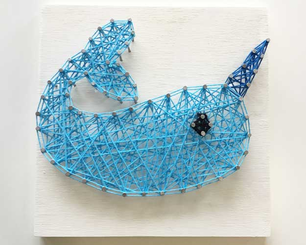 Narwhal String Art - Reservation