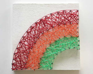 Rainbow String Art - Reservation
