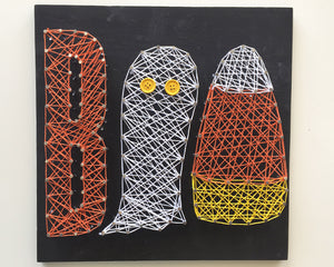 BOO! String Art
