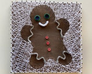 GingerBread String Art