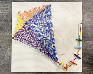 Bright Kite String Art