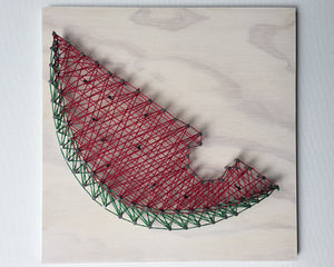 Watermelon String Art