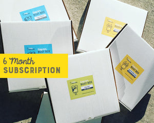 Six Month Subscription Box
