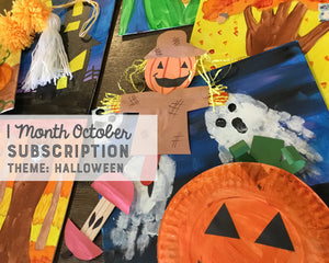 One Month OCTOBER Subscription Box
