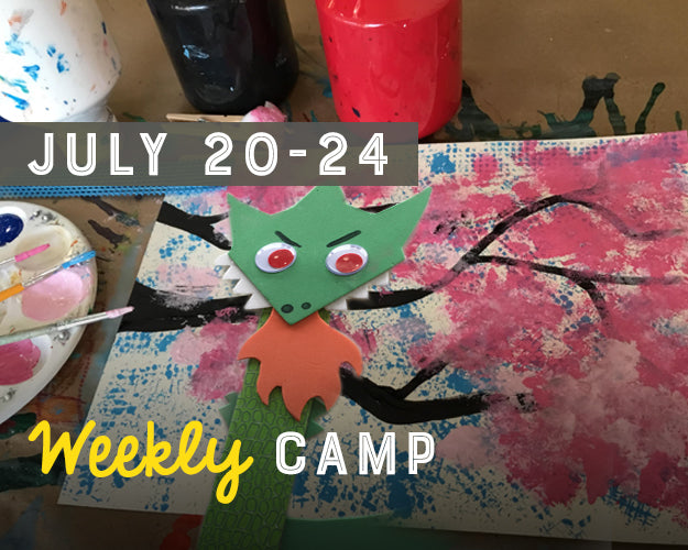 Summer Camp - Week Long: July 20-24