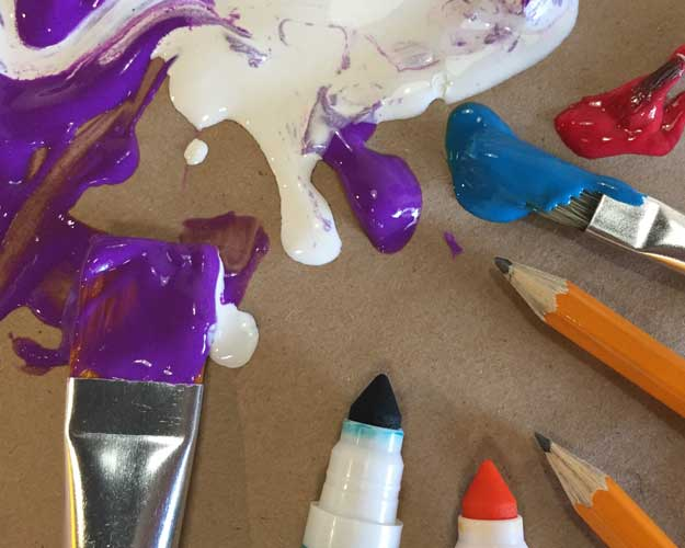 Drawing & Painting Basics (Gr. 3-5) July 9-13