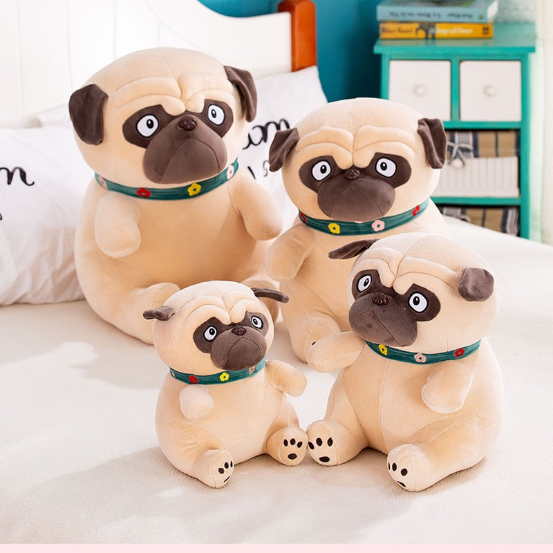 Big Size Pug Dog Plush Toy